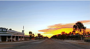 Birdsville in the heart of Channel Country