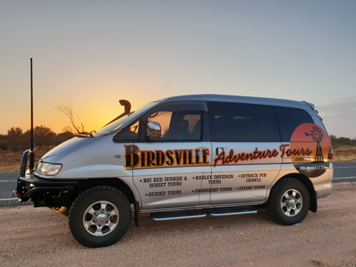 Birdsville Adventure Tours Mitsubishi Delica 4wd