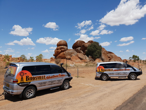 Travel the outback in Birdsville Adventure Tours luxury