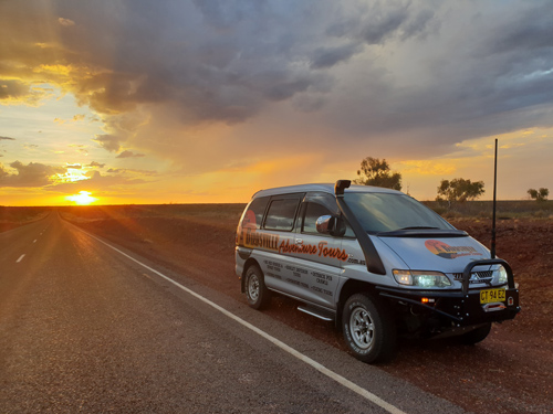 Birdsville Adventure Tours air conditioned/heated tours