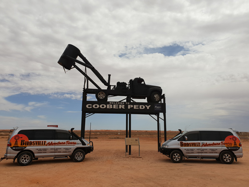 Birdsville Adventure Tours luxury people movers